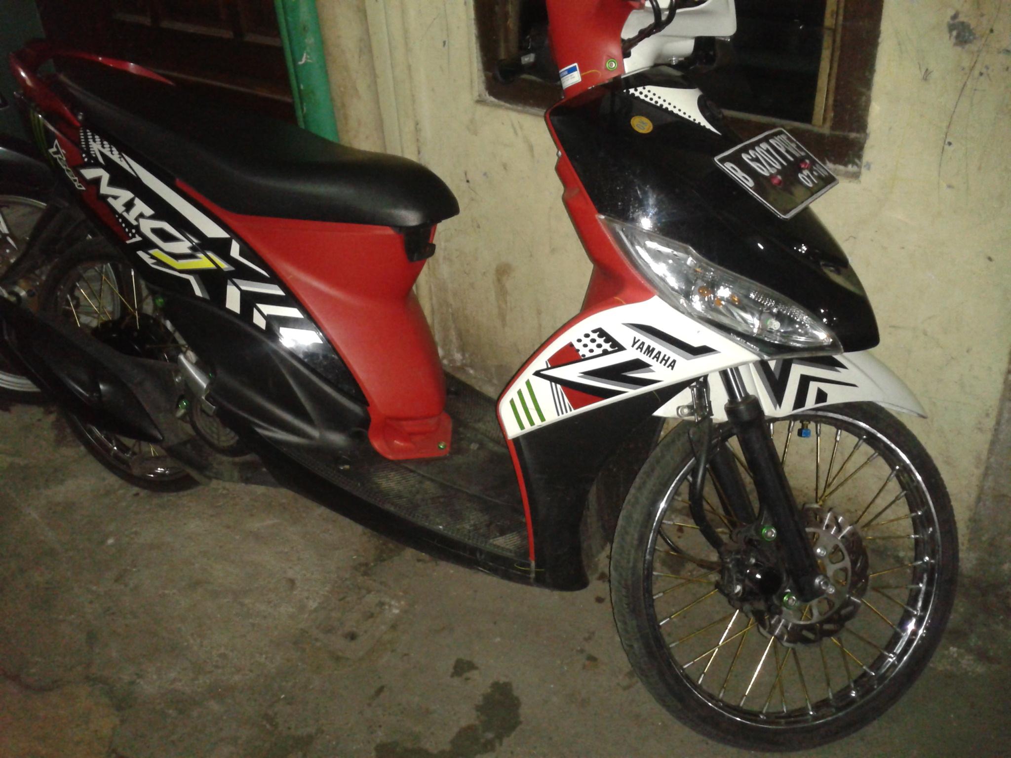 Kumpulan Modifikasi Motor Mio J Drag Terbaru Kampong Motor