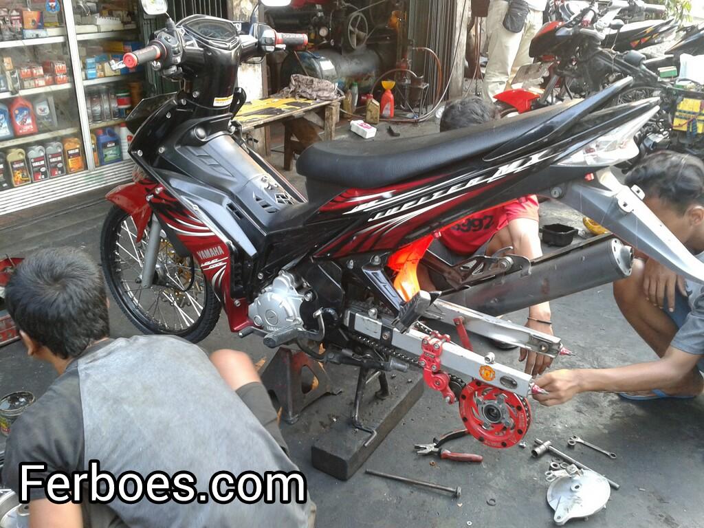 Koleksi 100 Jupiter Mx Lama Modif Drag Terkeren Kampong Motor Ferboescom