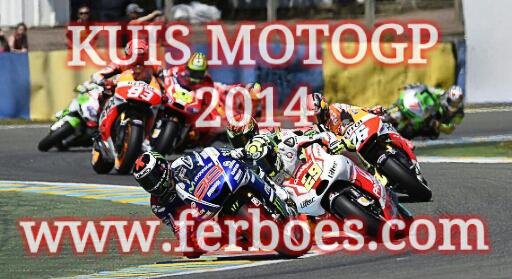 Pengumuman Pemenang Kuis MotoGp Sepang2014