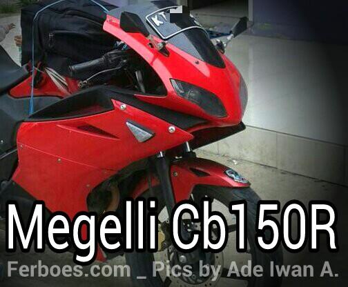 Modifikasi Honda CB150R Full FairingMegelli