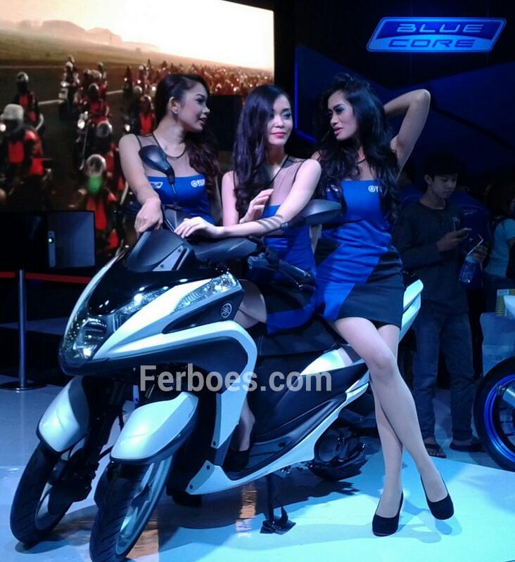 Booth Yamaha Di IMOS2014