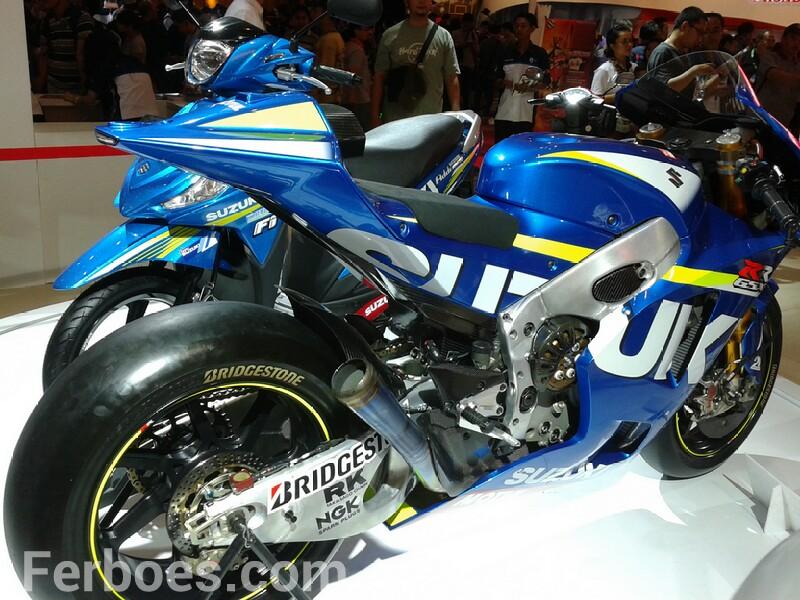 Lebih Dekat Dengan Suzuki GSX RRMotoGp