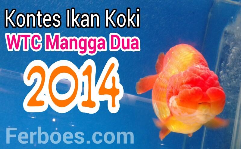 Daftar Pemenang Kontes Ikan Koki WTC Mangga Dua2014