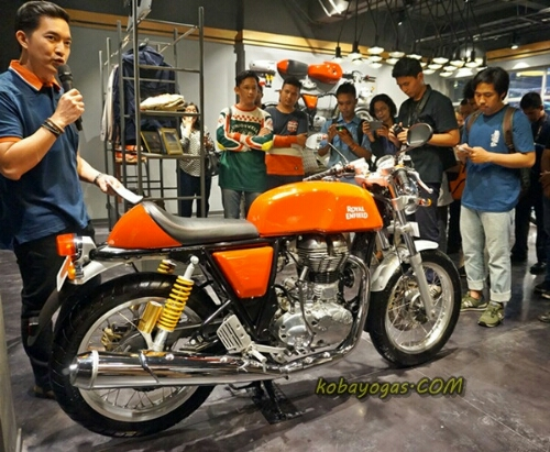 enfield guys The reputation which it has is enough for people to be crazy about it also don't forget about its performance & comfort while riding makes it quite unique.