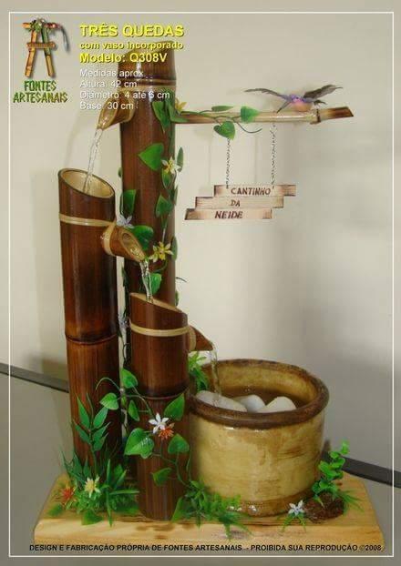 Inspirasi Pancuran Bambu Unik Ferboes Com